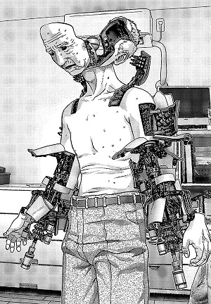 しかし、サイボーグの身体になったことにより犬屋敷という人間は死んでしまったと感じた彼は、今後の人生に絶望してしまいます。人の身体も心も持たないただの機械に